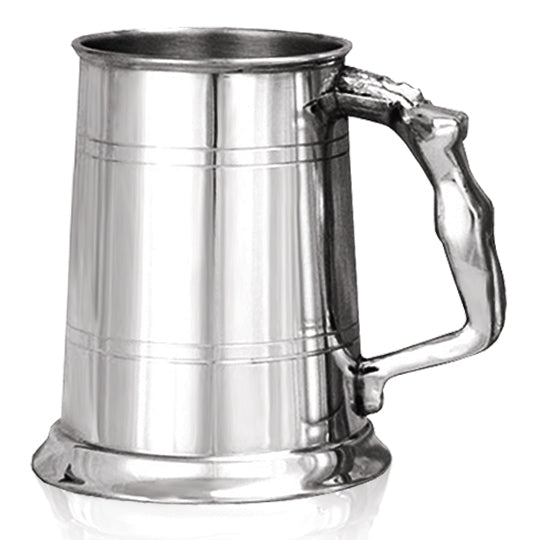 Pewter 1 Pint Nymph Tankard