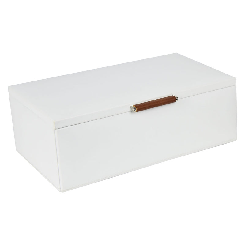 Dulwich Designs Notting Hill White Medium Jewellery Box 71107