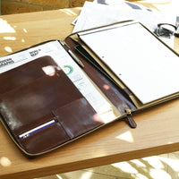 Dulwich Designs Windsor Brown Leather A4 Document Holder 71215