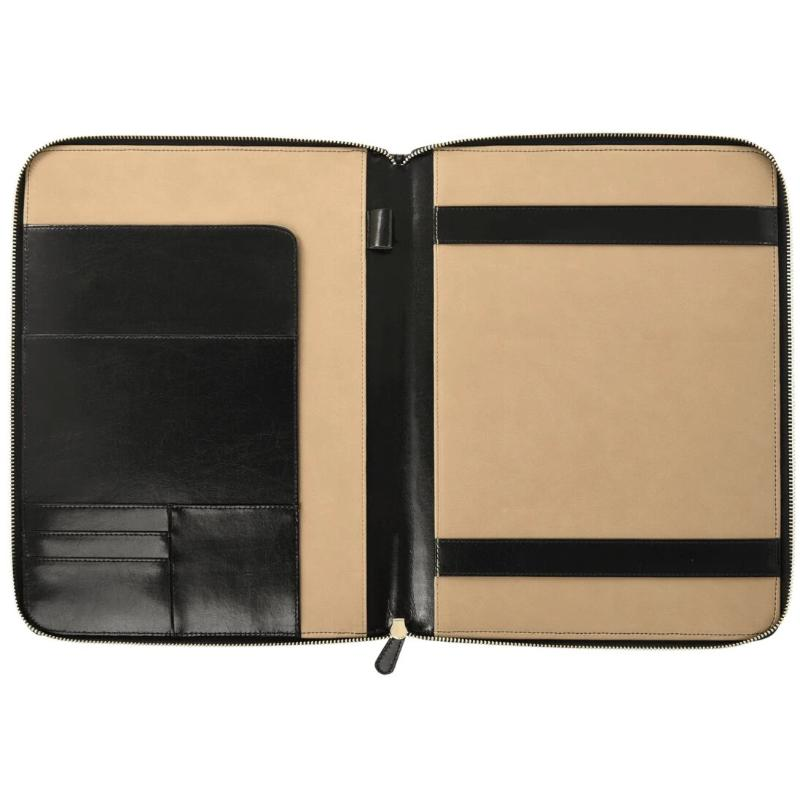Dulwich Designs Windsor Black Leather A4 Document Holder 71221