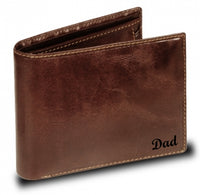 Visconti Monza MZ4 Lazio Italian Brown Leather Wallet