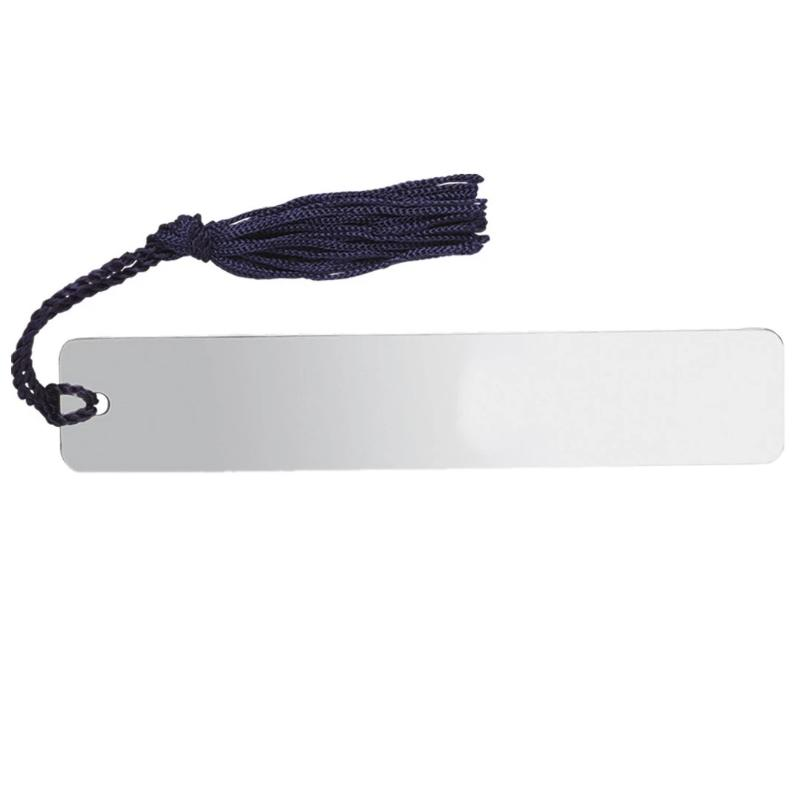 Long Solid Silver Bookmark with Tassle 8493