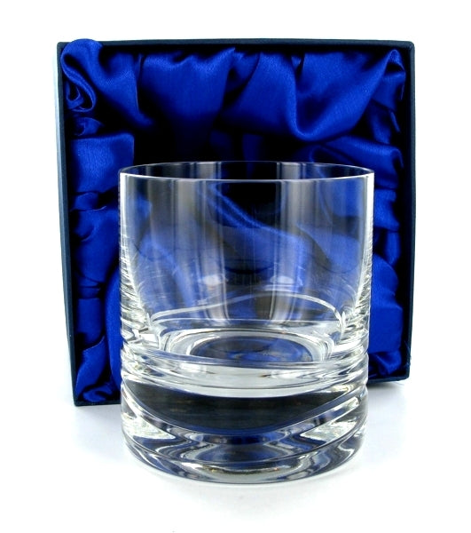 Verona Whiskey Tumbler with Presentation Box & Free Engraving
