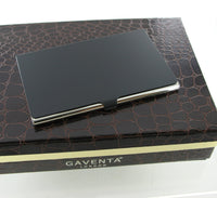 Gaventa Soft Black Business Card Case 2894