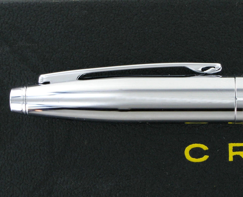 Personalised Cross Calais Chrome Ballpoint Pen AT0112-1