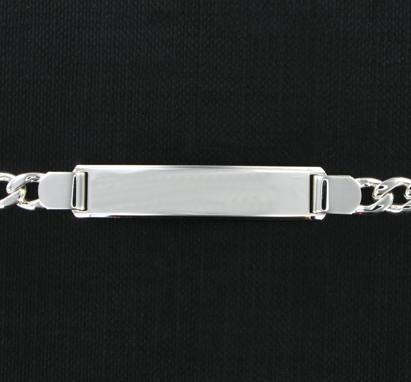 Small Figaro Identity Bracelet with Presentation Box