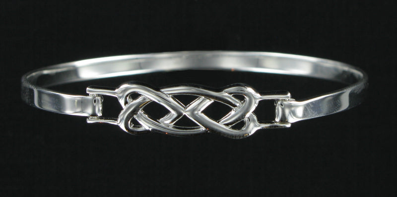Celtic Knot Bangle with Presentation Box