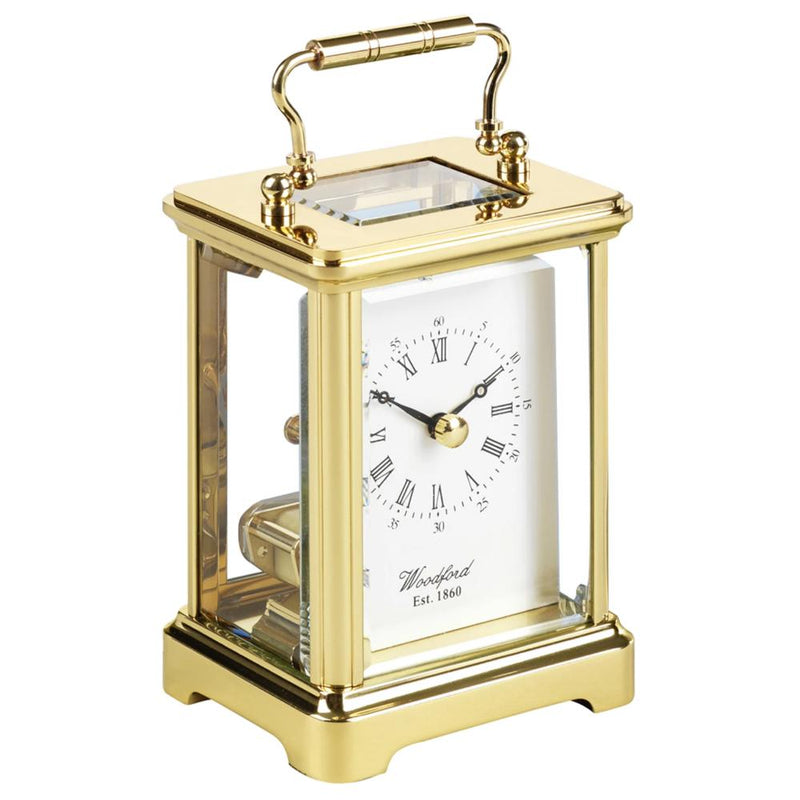 Brass Ticking 'OBIS' Carriage Clock BR1428