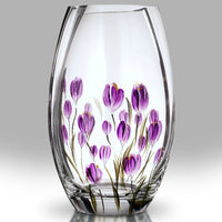 Nobile Crocus Mulberry Roundish Vase - 20cm