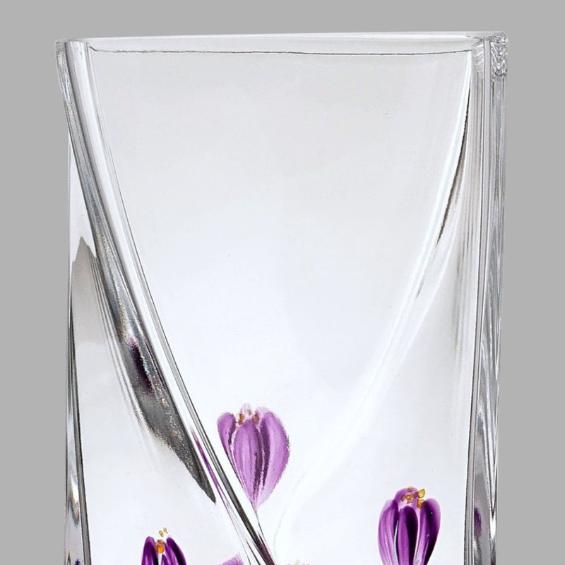 Nobile Crocus Mulberry Twist Vase - 20cm