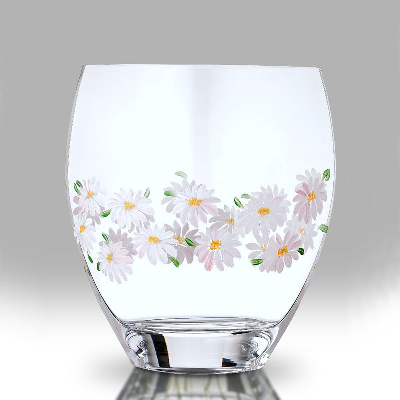 Nobile Daisy Curved Vase - 21cm