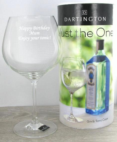 Dartington Gin Glass 'Just the One'