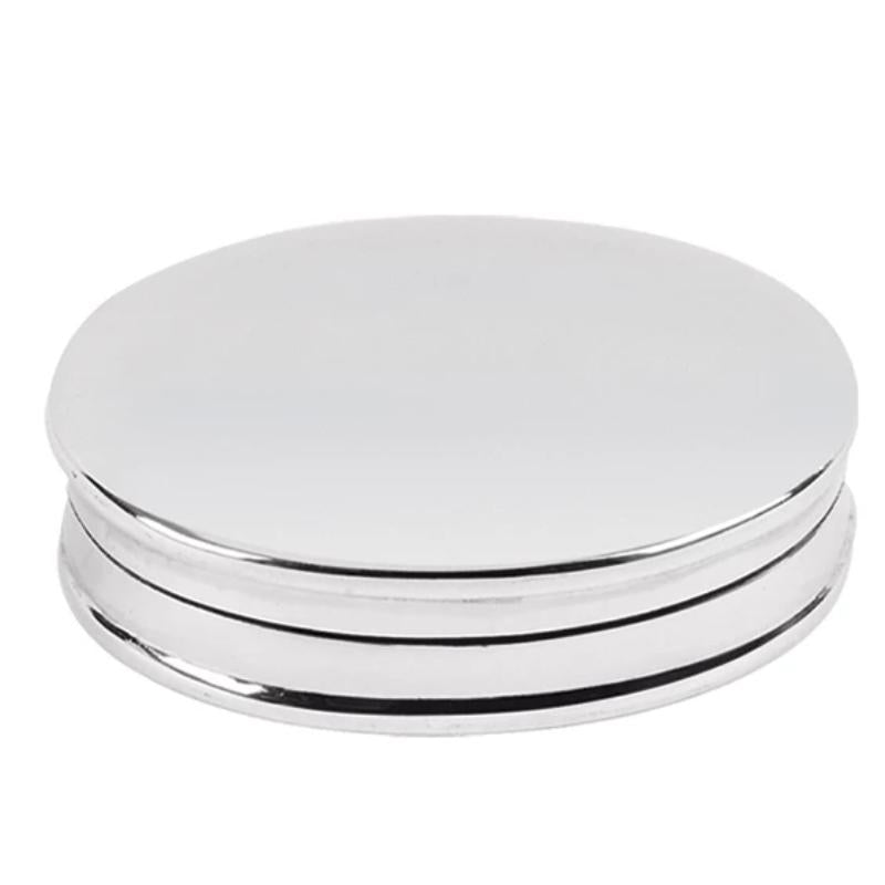 Pill Box Mother of Pearl 925 Solid Silver 8832