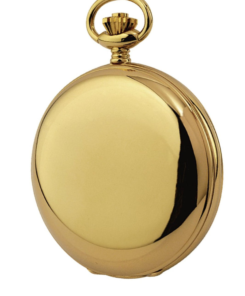 Swiss Movement Gold Plated Pocket Watch by Woodfords GP1009