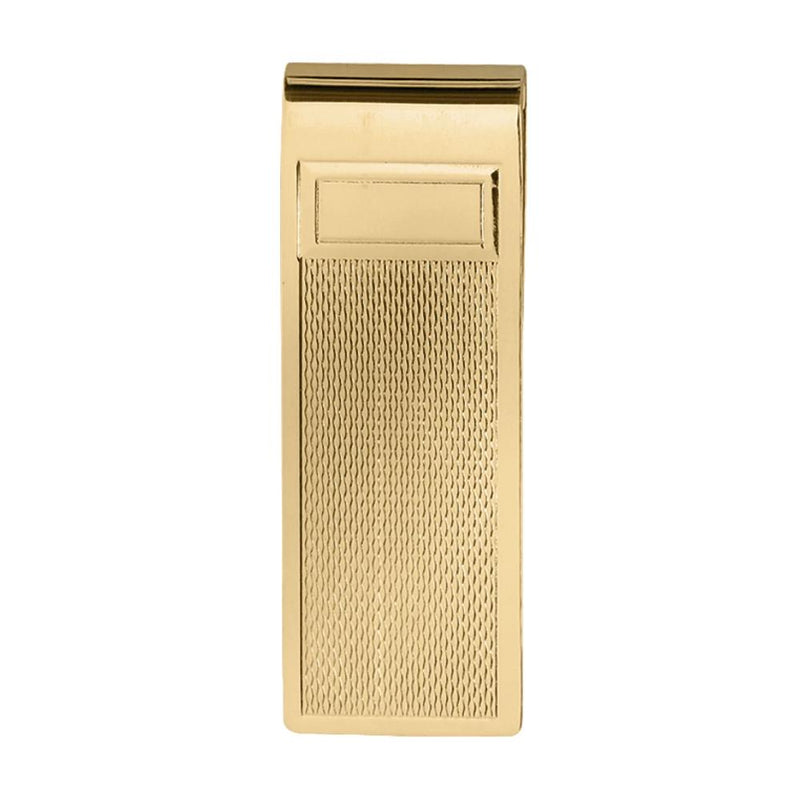 Money Clip Gold Plated with panel GP9424