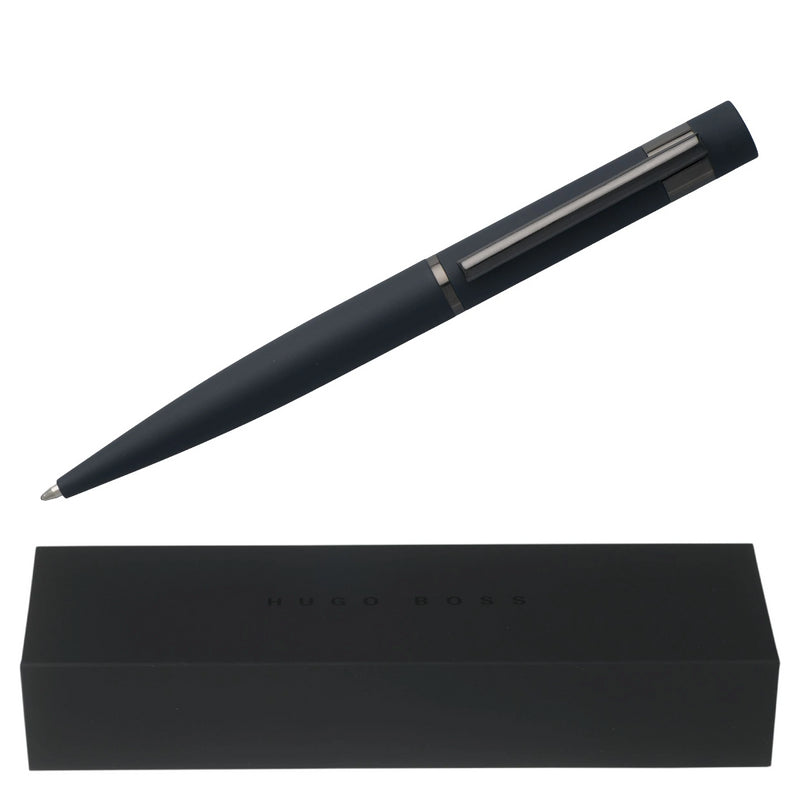 Hugo Boss Ballpoint Pen, Blue Loop Smooth