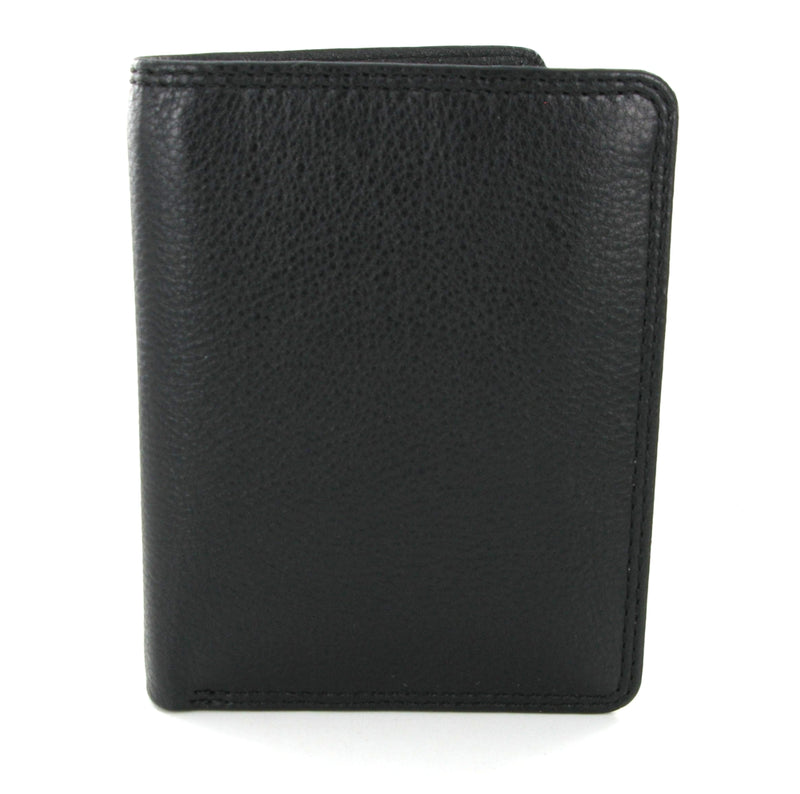 Visconti Heritage HT6 Harley Black Leather Slim Mini Wallet
