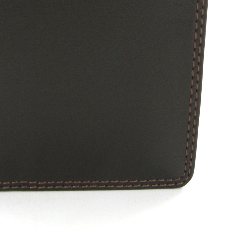 Visconti Heritage HT6 Harley Choc Brown Leather Slim Mini Wallet