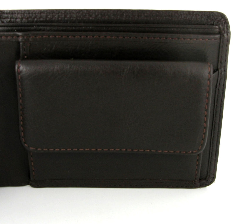 Visconti Heritage HT7 Stamford Soft Chocolate Brown Leather Wallet