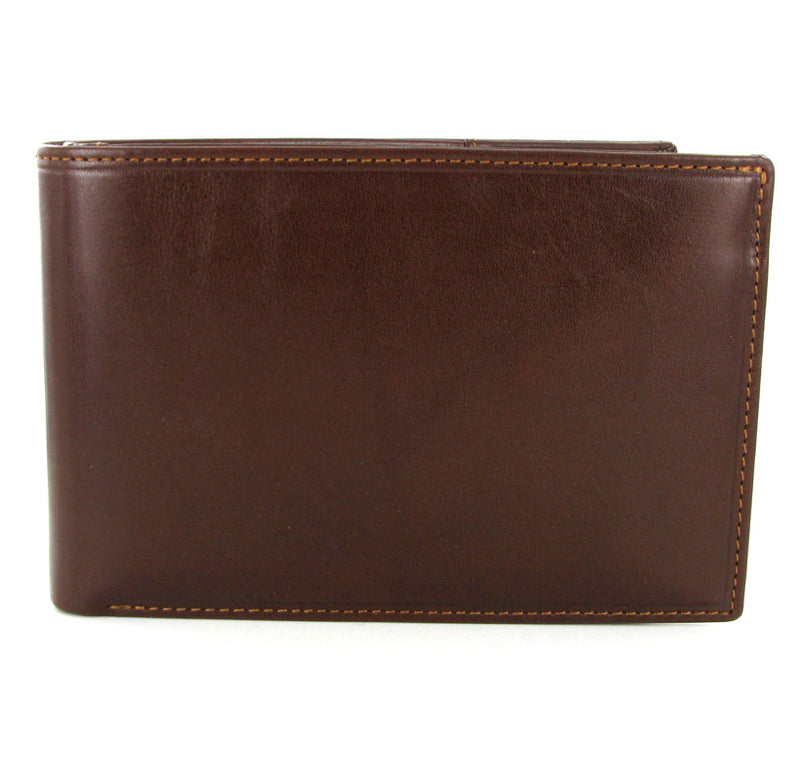 Visconti Monza MZ9 Brown Leather RFID Travel Wallet