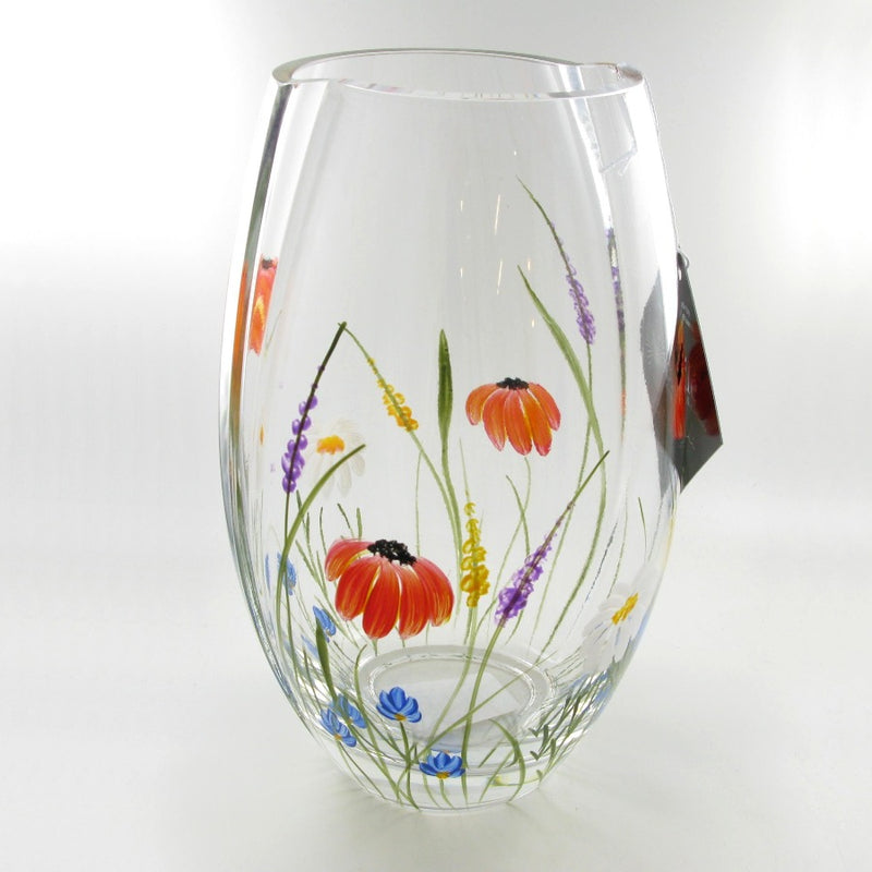 Nobile Meadow Not Quite Round Vase - 20cm