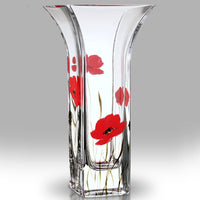 Nobile Poppy Fields Flared Vase - 22.5cm