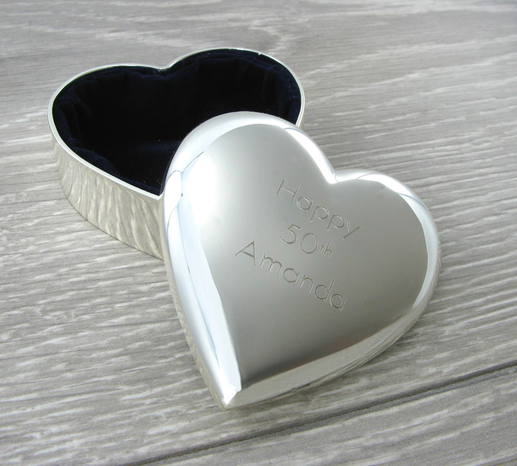 Trinket Box Heart Shape