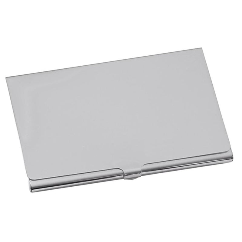 Plain Business Card Holder Nickle Plated