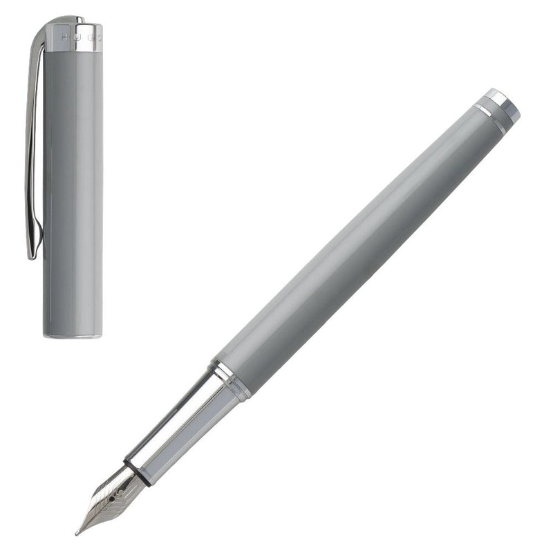 Hugo Boss Ace Grey Fountain Pen HST9542K