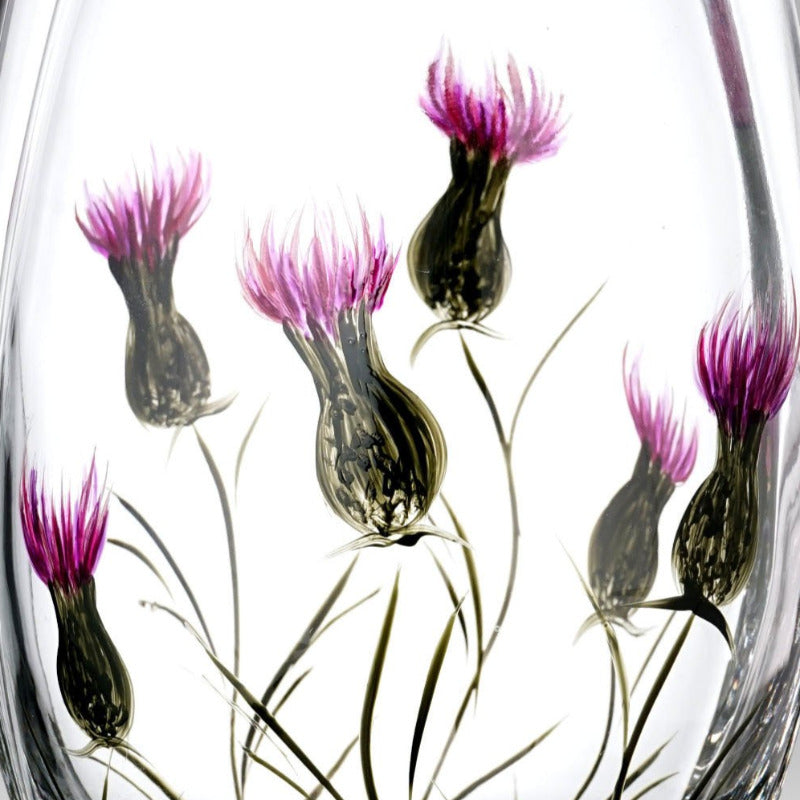 Nobile Thistle Roundish Vase - 21cm