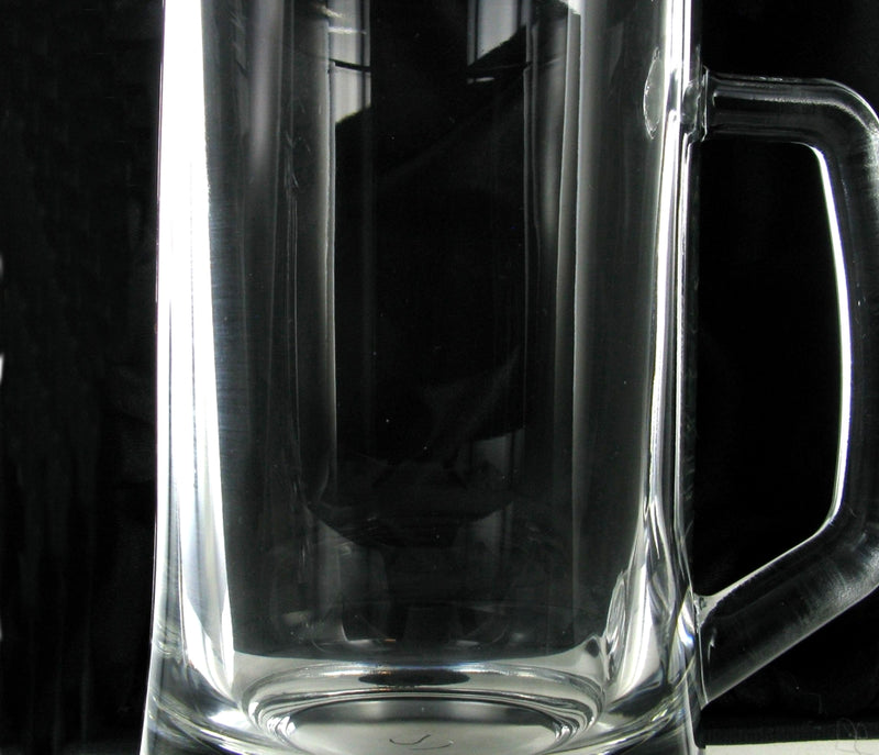 Half Pint Glass Tankard UK100 with Free Engraving