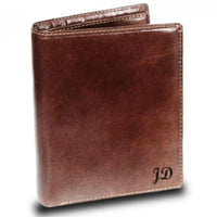 Visconti Monza MZ3 Milan Italian Brown Leather Wallet