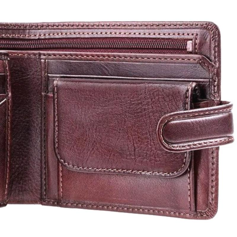 Visconti Tuscany TSC42 Luxury Brown Leather Wallet RFID