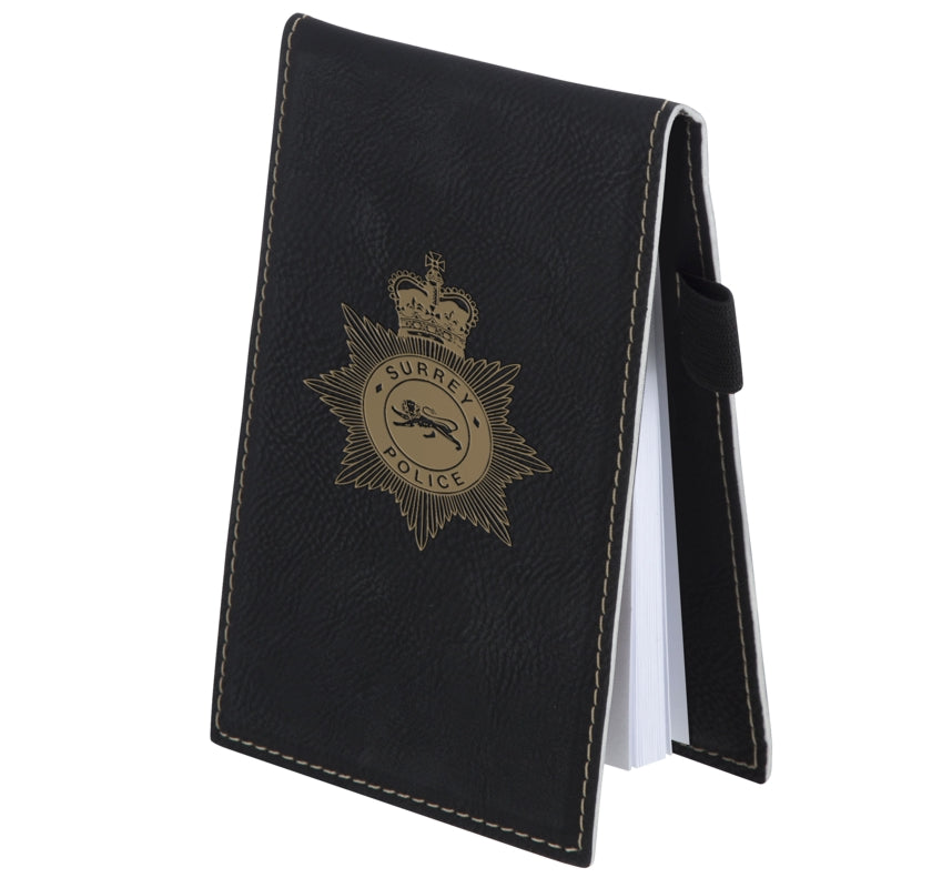 Swatkins Leatherette Black Small Note Pad