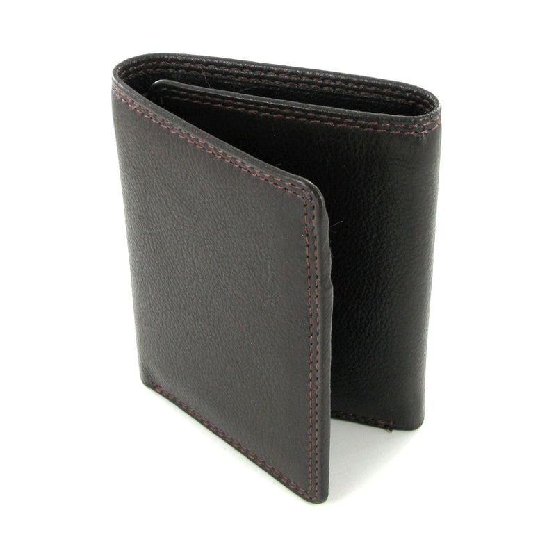 Visconti Heritage HT18 Brown Bi-fold Wallet
