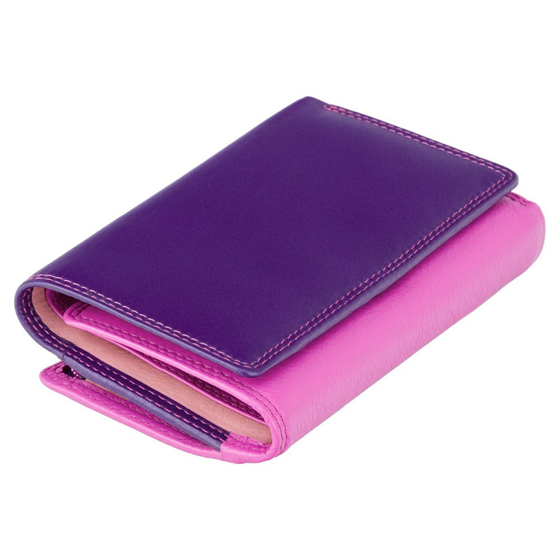 Visconti Bora Plum Ladies Leather Purse RB43 Plum