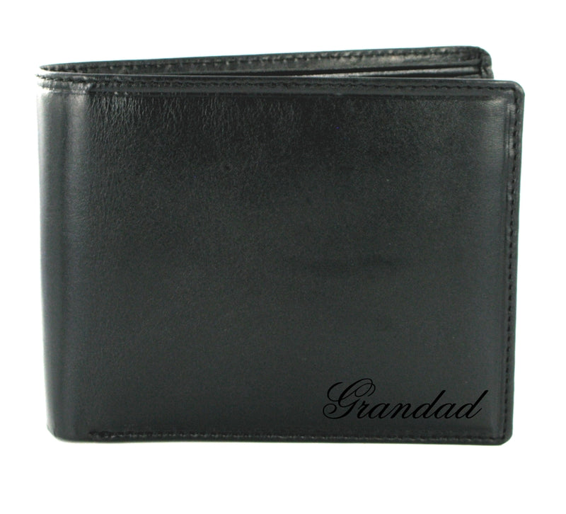 Visconti Monza MZ4 Lazio Italian Black Leather Wallet