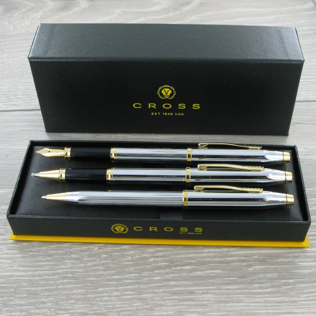 Cross Century II Medalist Pen Set 3 Personalised