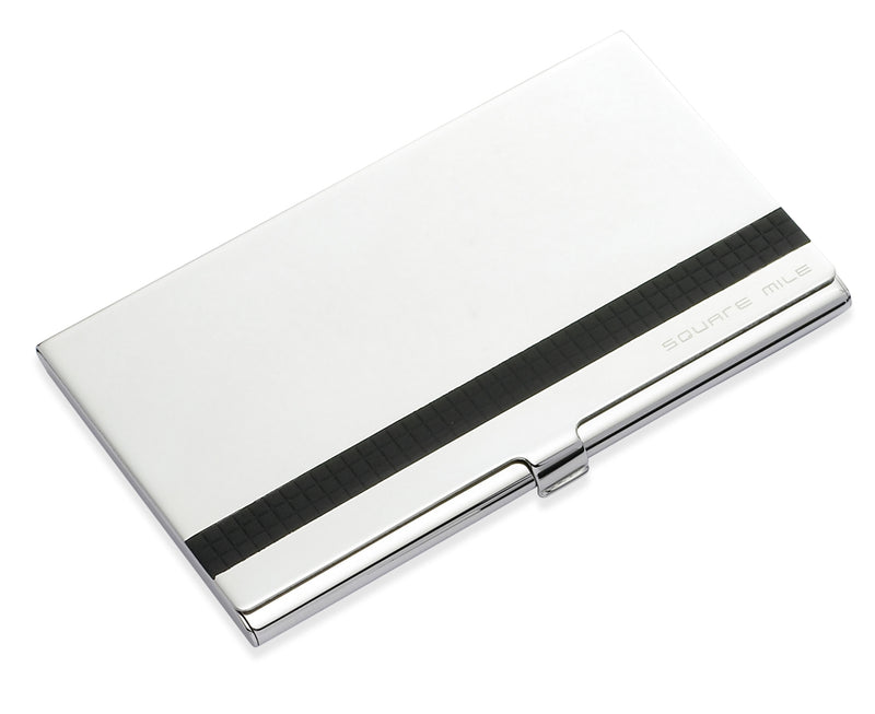 Gaventa Business Card Holder Black Line by SquareMile 10690