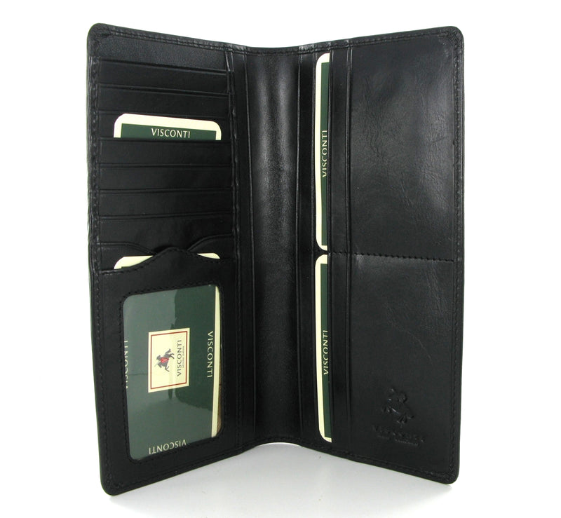 Visconti Monza MZ6 Black Gents Jacket Wallet