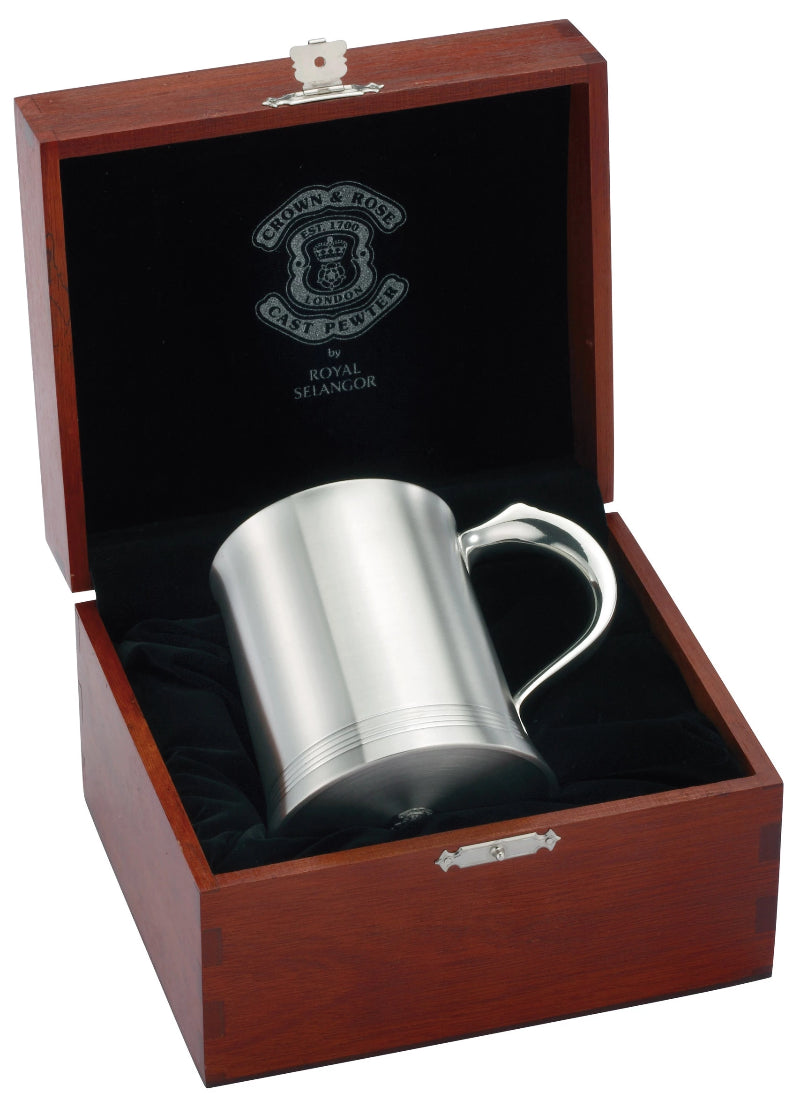 Royal Selangor Henley Tankard with Wooden Case 092172G