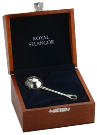 Royal Selangor Baby Rattle with Wooden Case 5751RG
