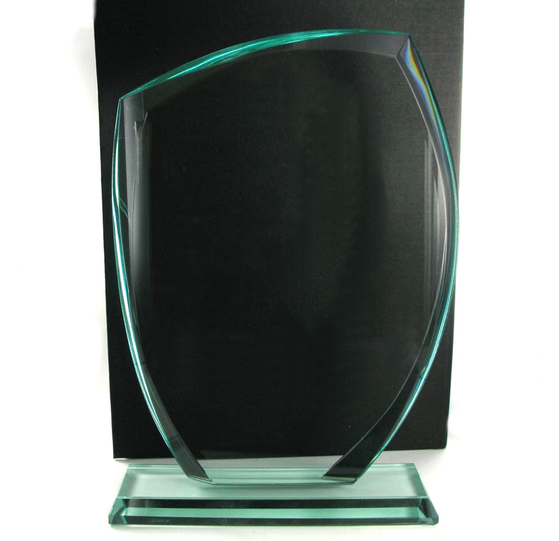 Swatkins Jade Glass Award HC015C 255mm tall
