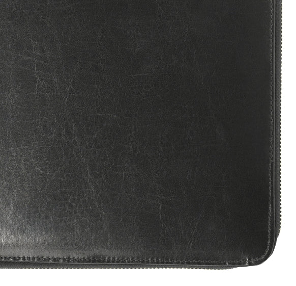 Dulwich Windsor Black Leather A4 Document Holder 71221