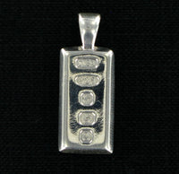 Small Solid Silver Ingot with Presentation Box