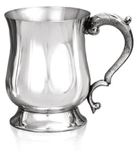 Pewter 1 Pint Georgian Tankard