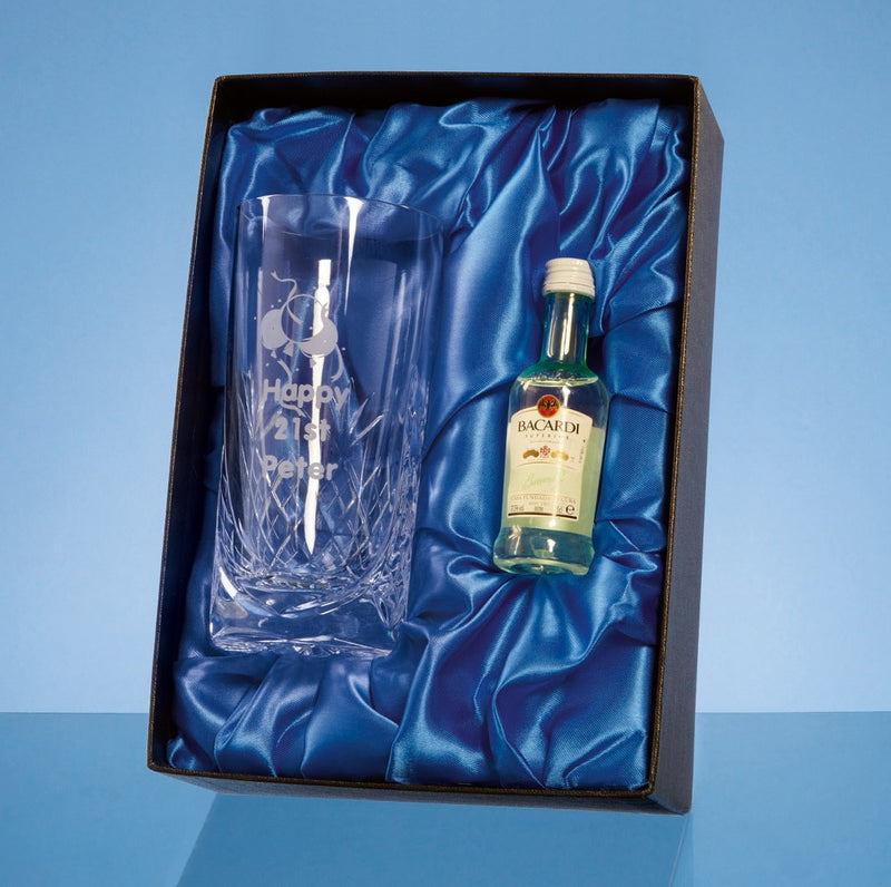 Bacardi Drink Set in Presentation Box