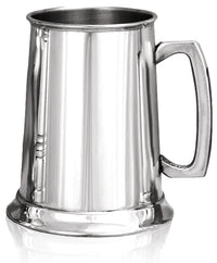 Pewter 1 Pint Plain Tankard
