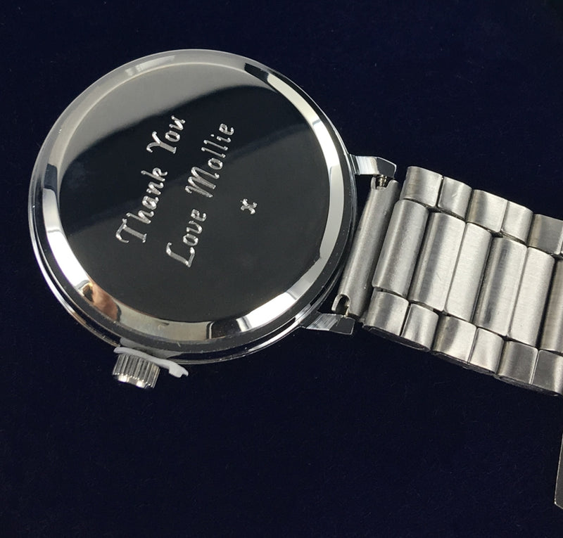 Nurse Fob Watch with presentation case, personalised
