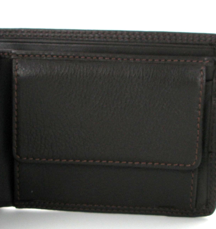 Visconti Heritage HT13 Strand Brown Leather Wallet